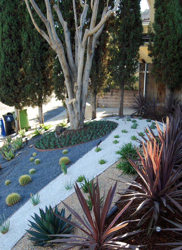 Decoration Jardin Avec Galets Stunning Amenagement Jardin