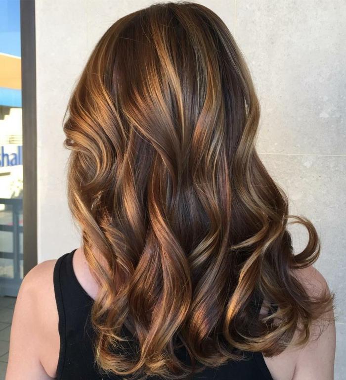 exemples de couleur de cheveux chocolat