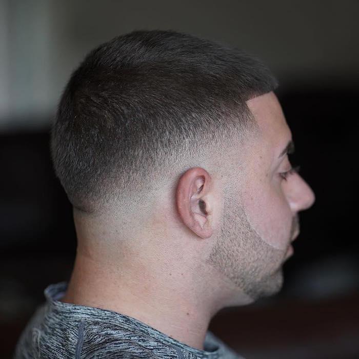 coupe homme degrade le style au poil