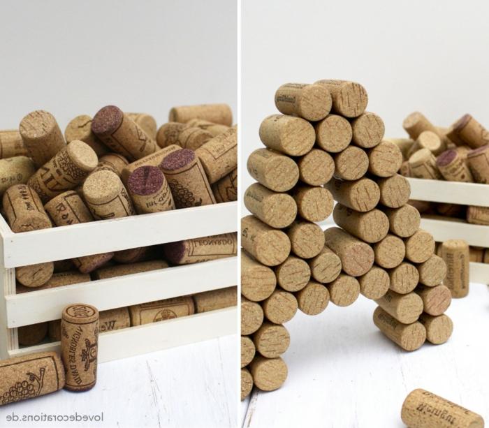 creer une chaleureuse decoration avec des bouchons de liege trouvez les meilleures exemples