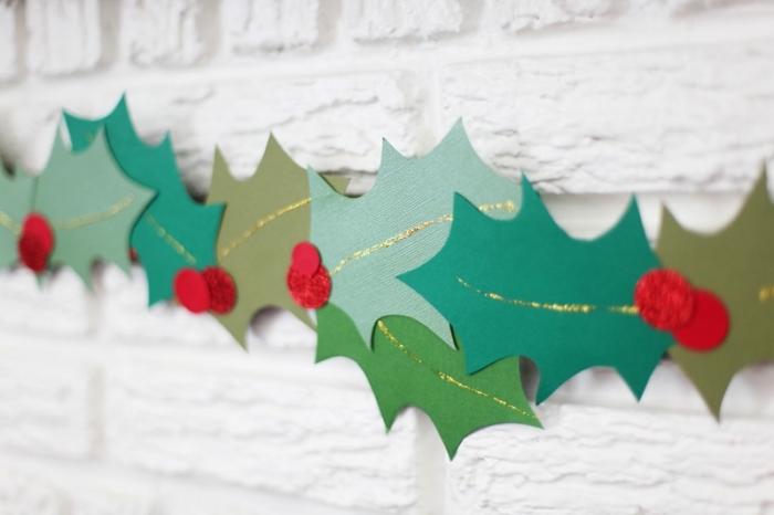 Dcoration De Noel Faire Soi Mme En Papier Cool Carte