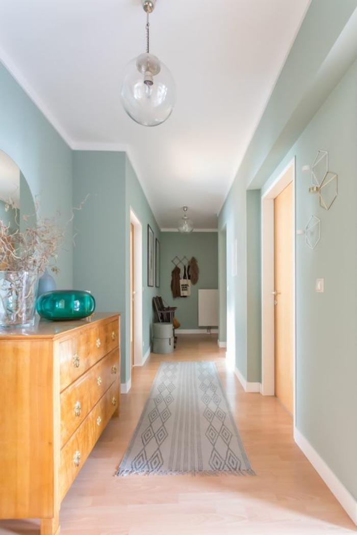 Deco Couloir Bleu