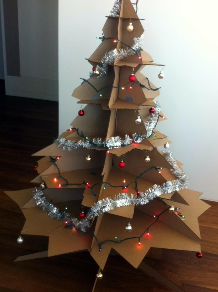 1001 Ides Cratives Comment Fabriquer Un Arbre De Noel