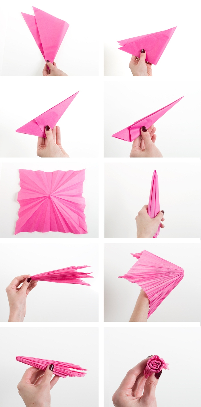 Origamie Rose Facile Affordable Origami Lotus Blossom Best Hanmade