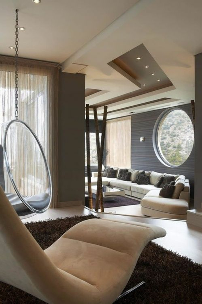 idees pour un salon moderne de luxe