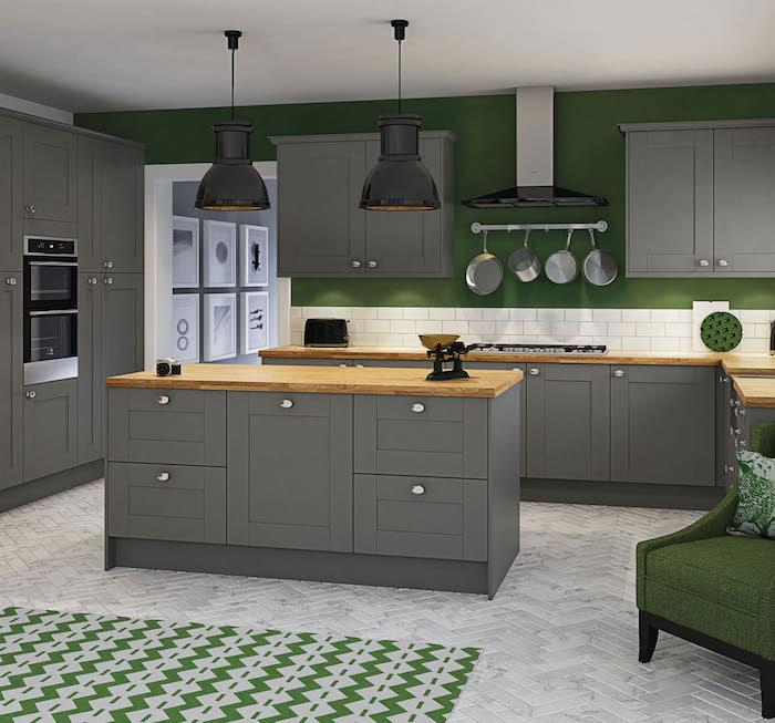 photo cuisine gris vert gallery