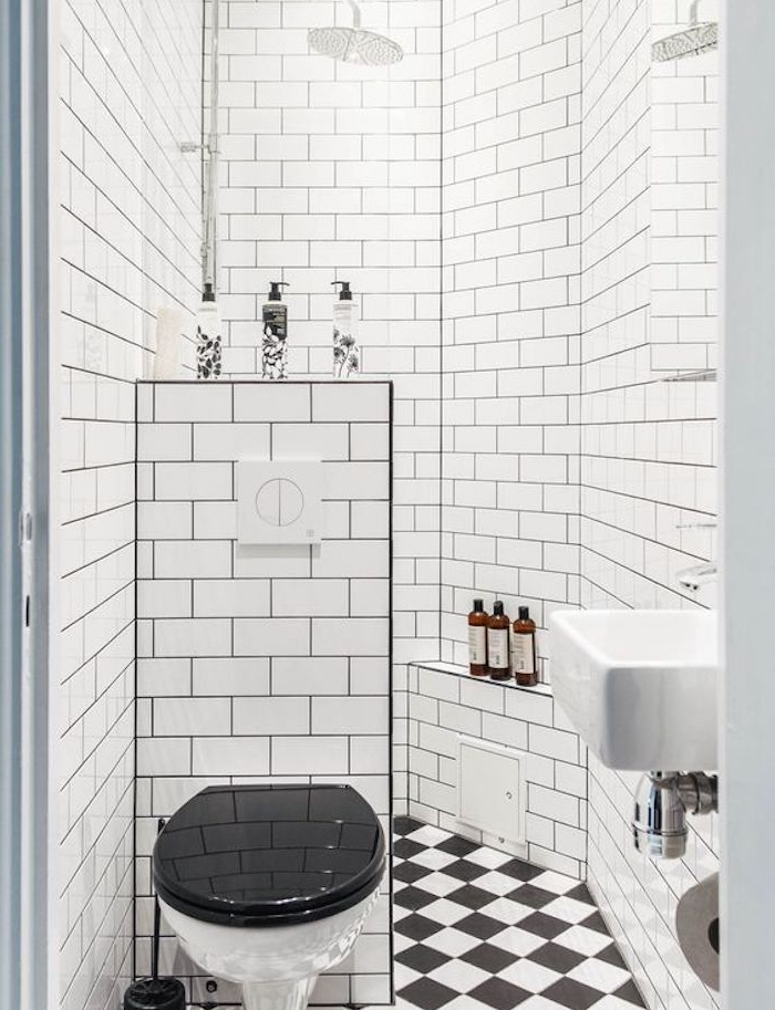 petite salle de bain 2m2