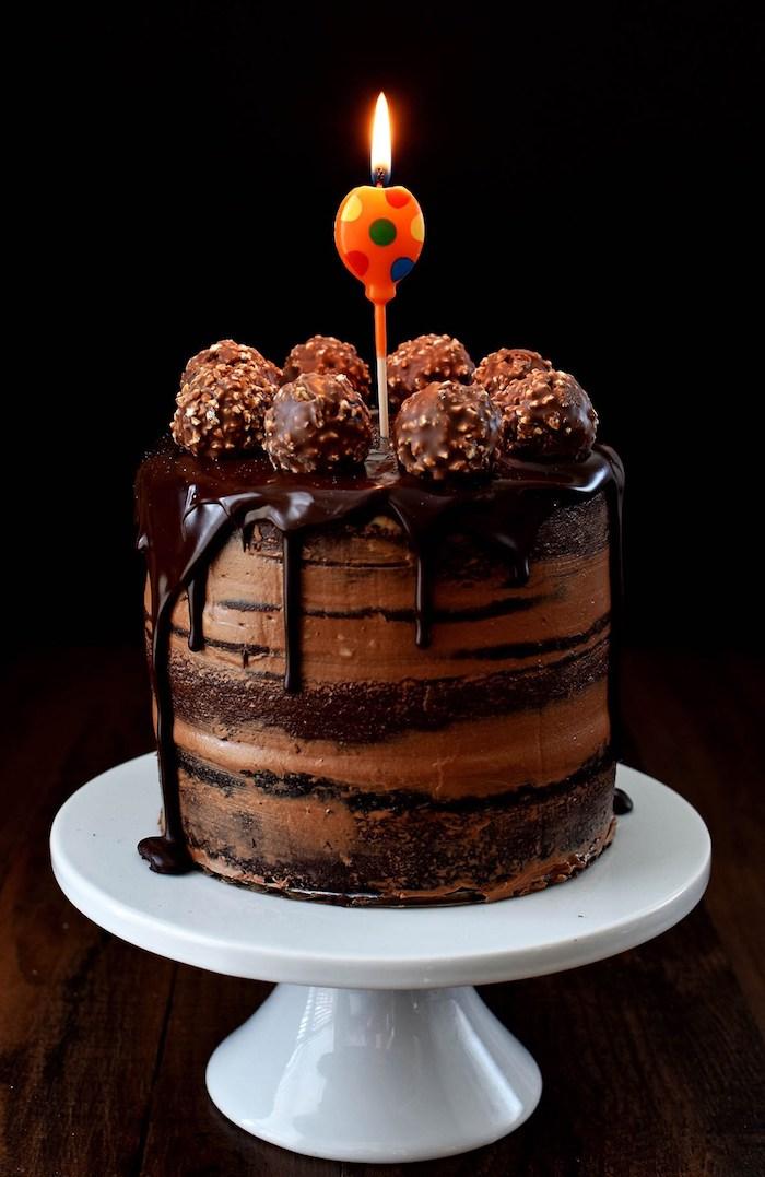 1001 Ides Pour Le Gteau Danniversaire Au Chocolat Parfait
