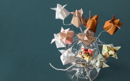 1001 Modeles D Origami Fleur Facile Pour Celebrer Le Retour Du Printemps