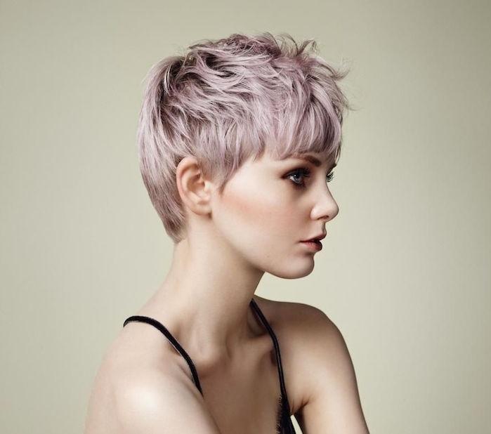 exemple de coupe de cheveux courte pour