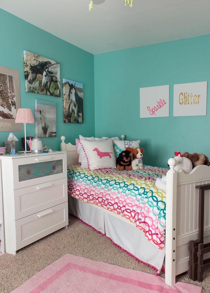 peinture chambre fille variez