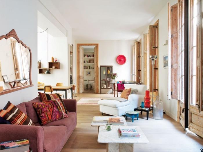 Dco Salon Chaleureux Awesome Ides Design Pour La Dco