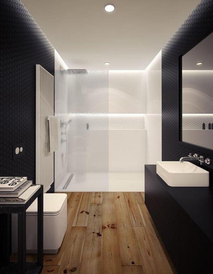 salle de bain sans carrelage