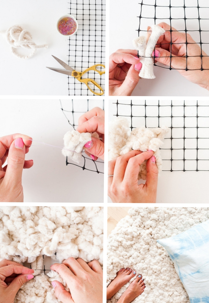 fabriquer un tapis