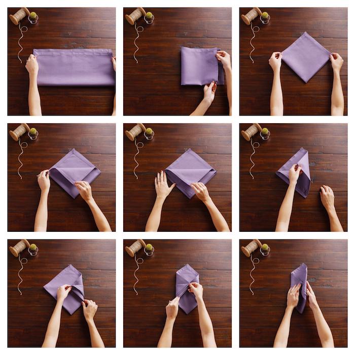 1001 Idees Creatives De Pliage De Serviette Pour Mariage