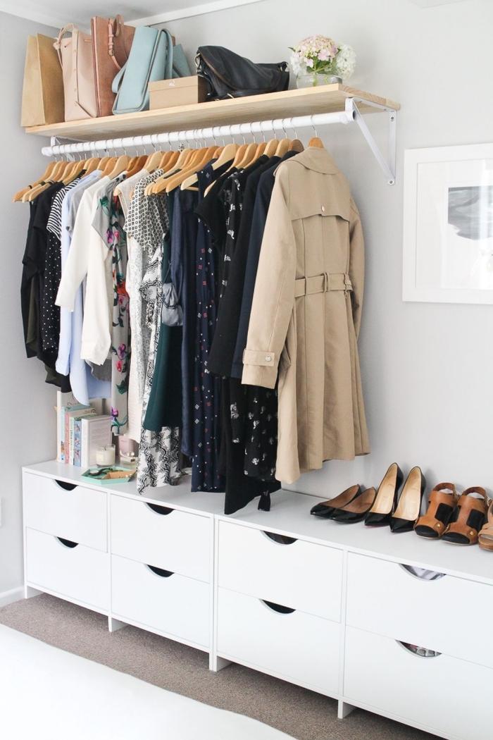 1001 Rangements Malins Pour Trouver La Meilleure Idee Dressing Adaptee A Tout Espace