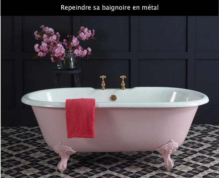 1001 Idees Peinture Pour Baignoire L Astuce Beaute De La Salle De Bain