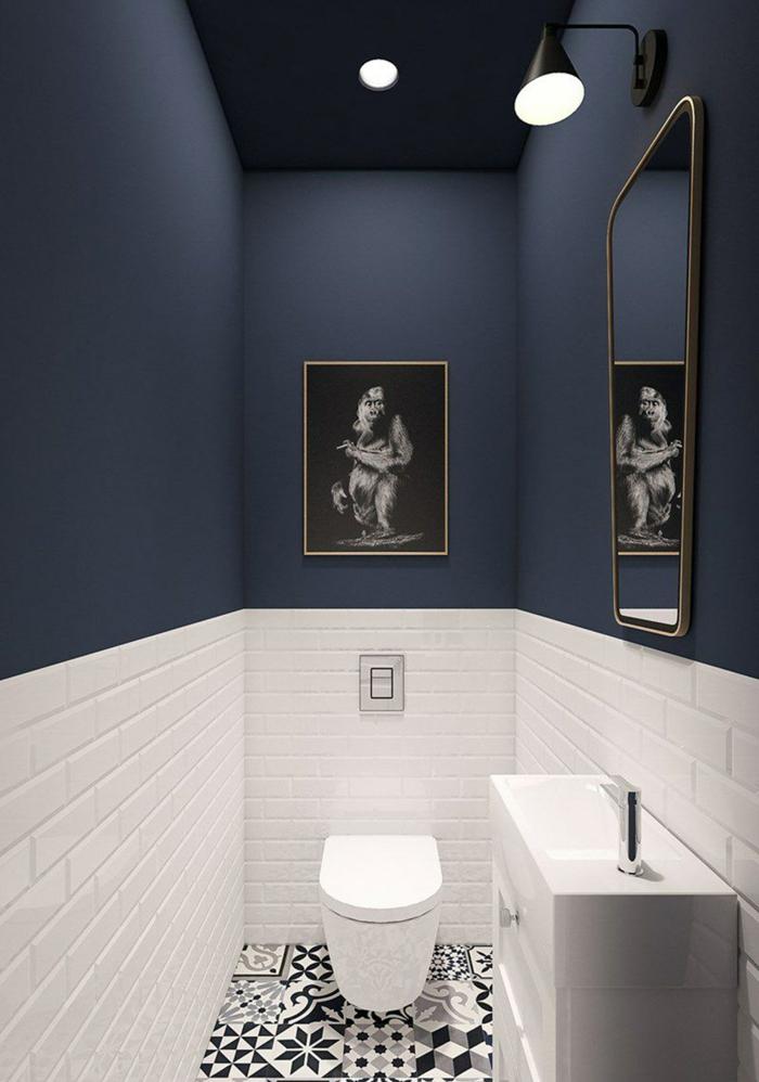 idees pour une peinture pour toilettes
