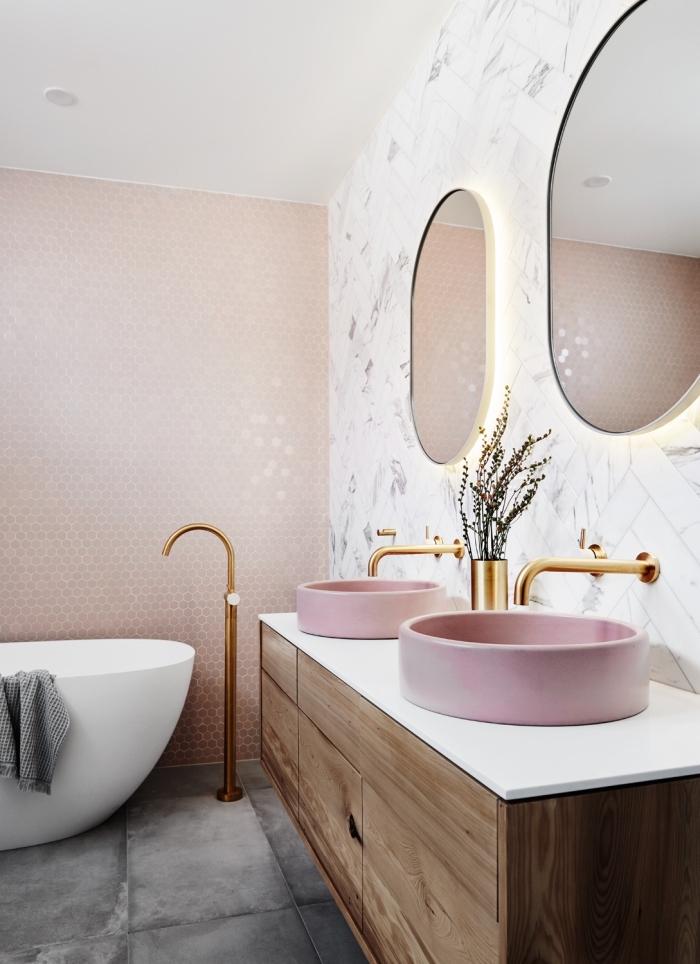 https archzine fr maison revetement mural pour salle de bain moderne