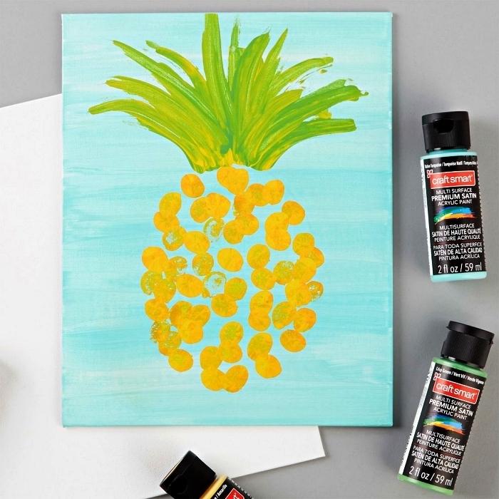 1001 Idees Et Techniques De Base Pour Debuter La Peinture Acrylique