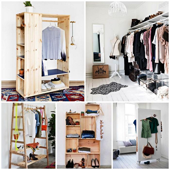 1001 Idees Pour Organiser Ses Vetements Avec Un Dressing Fait Maison