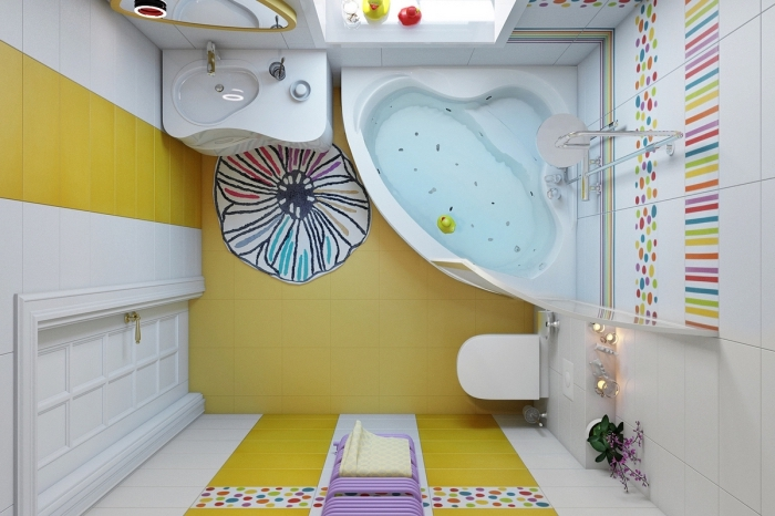 1001 Idees Comment Amenager La Salle De Bain Enfant