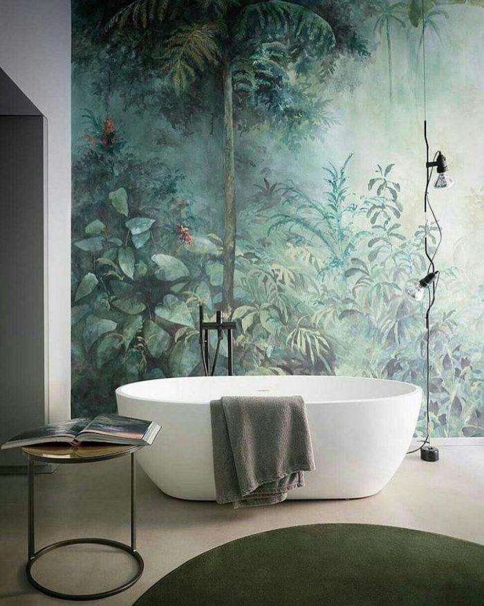murale salle de bain