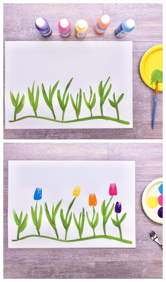 1001 Idees D Activite Avec De La Peinture Pour Occuper Les Petits Cet Ete