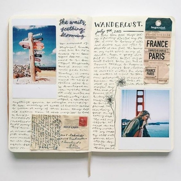 1001 Idee Per Diario Di Viaggio Ricordi Foto E Collage