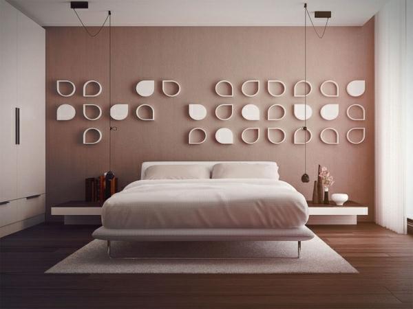 Schlafzimmerwand Gestalten 40 Wunderschne Vorschlge