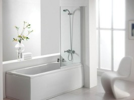 Badewanne mit Duschzone  tolle Beispiele   Archzine.net
