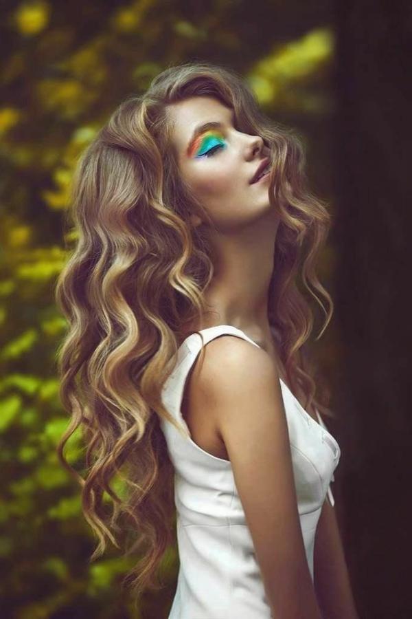 Coole Interessante Frisuren Fr Lange Haare