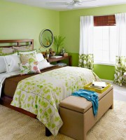 55 Ideen für grüne Wandgestaltung im Schlafzimmer   Archzine.net