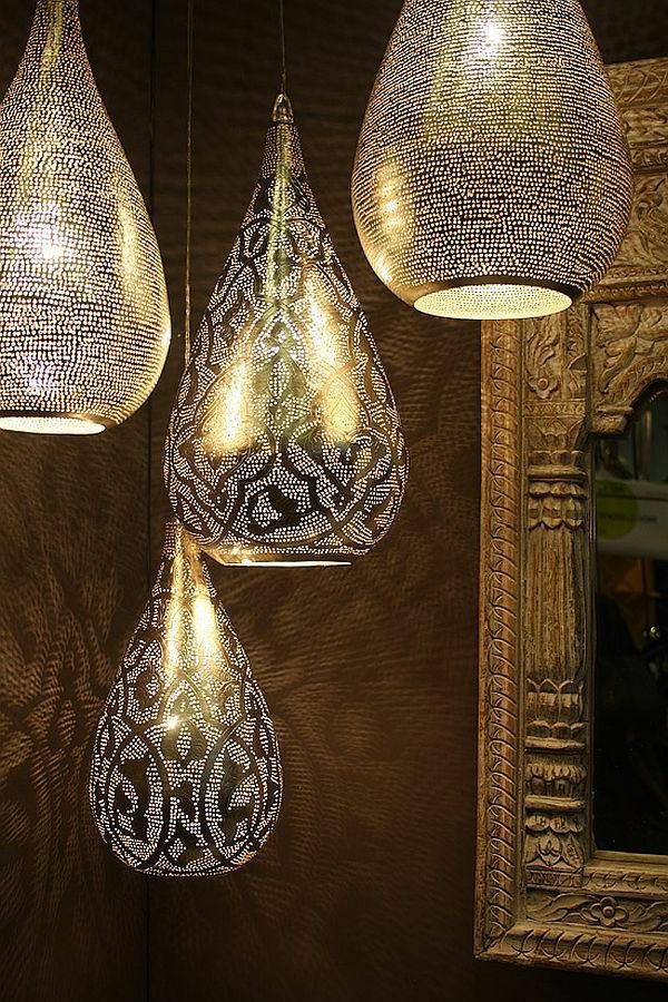 Oriental Pendant Light