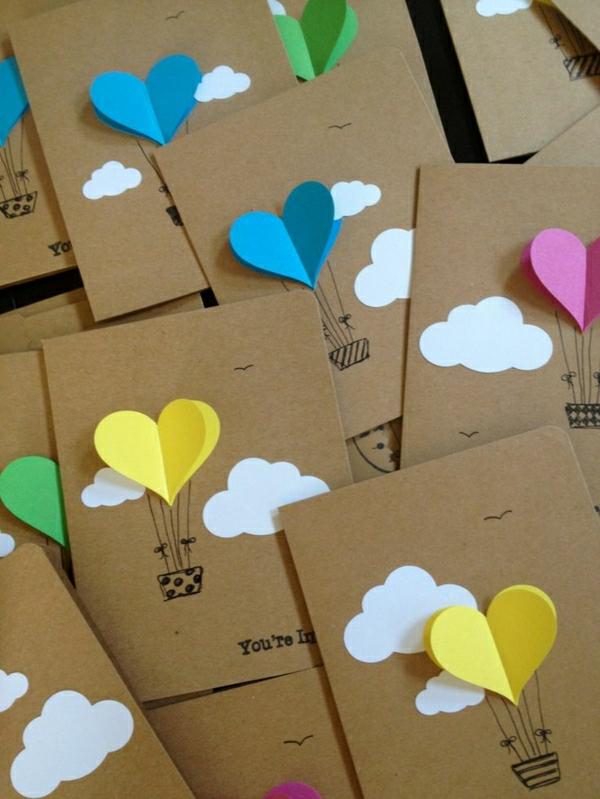 Ostern Grusskarten Zu Ostern Basteln Diy Projekt Natalehle De