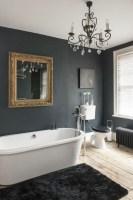 38 Beispiele für Badezimmer in Schwarz   Archzine.net