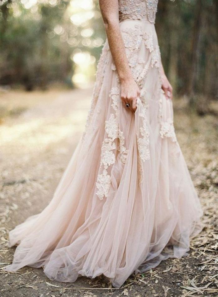 Anna Campbell A Line Hochzeitskleider Brautkleid Aus Chiffon Und