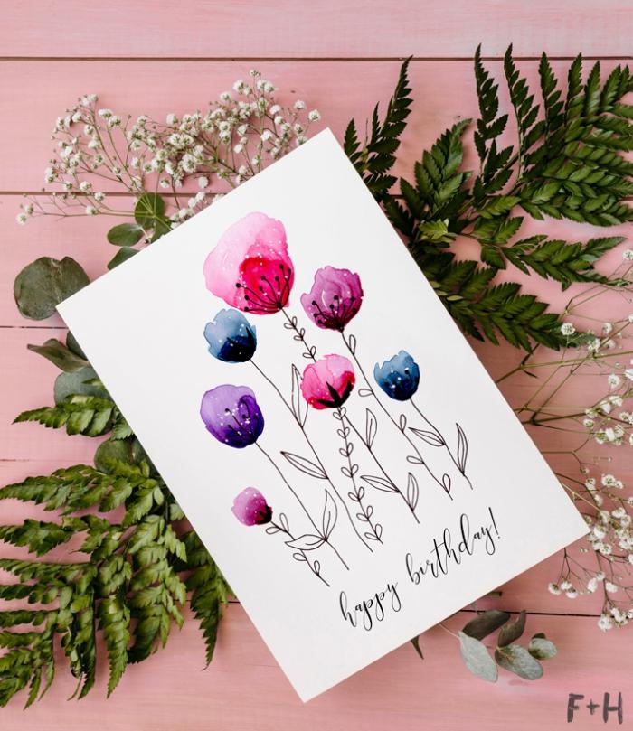 Geburtstagskarte Mit Musik Zirkustiere Und Clown Kinder Geburtstag