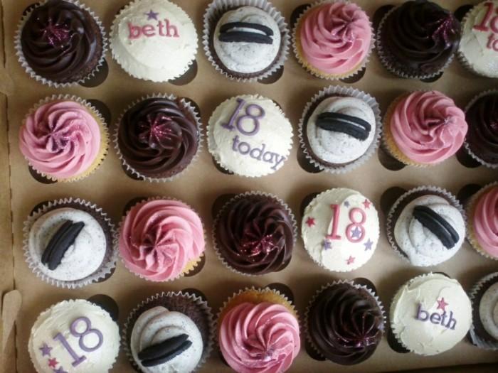 Golden Birthday Cupcakes Rezept Cupcake Ideen Geburtstag