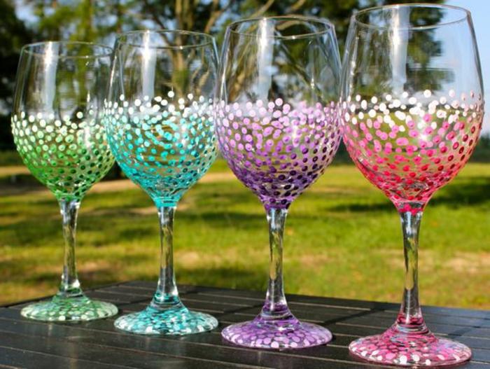 1001 Ideen Wie Sie Kreativ Weinglser Dekorieren Knnen
