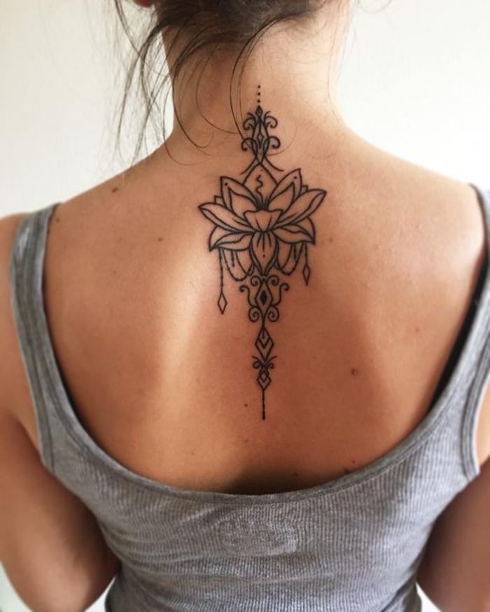 Schöne tattoos für frauen nacken