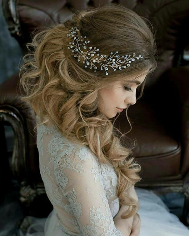 a wonderful hairstyle with hair accessories, updos quick and easy