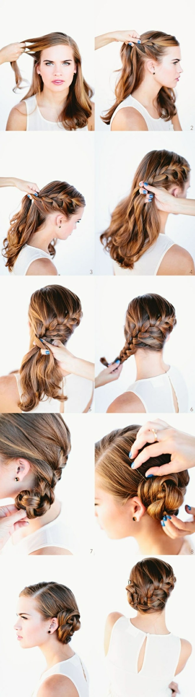 instructions on how to make a great hairstyle for long hair, beautiful hairstyles for long hair