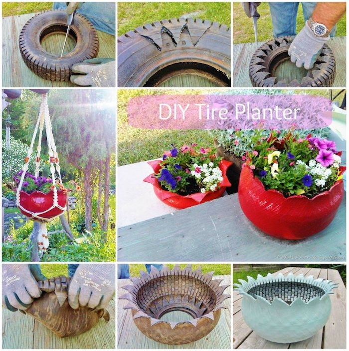 Ideen, wie Sie eine Gartendeko selber machen