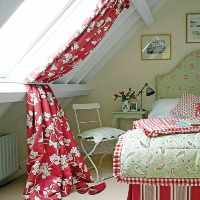 ideas for gorgeous attic room curtain ideas