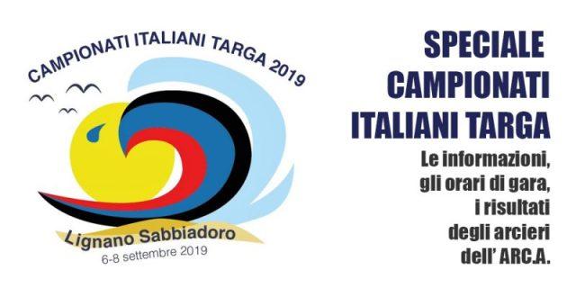 Fitarco Italia Org Gare Calendario.01001 Arc A 6 8 Settembre Campionati Italiani Targa