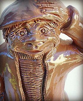 Escultura hombre