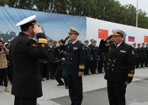 Ships of the Chinese Navy arrived in Baltiysk to participate in joint exercise