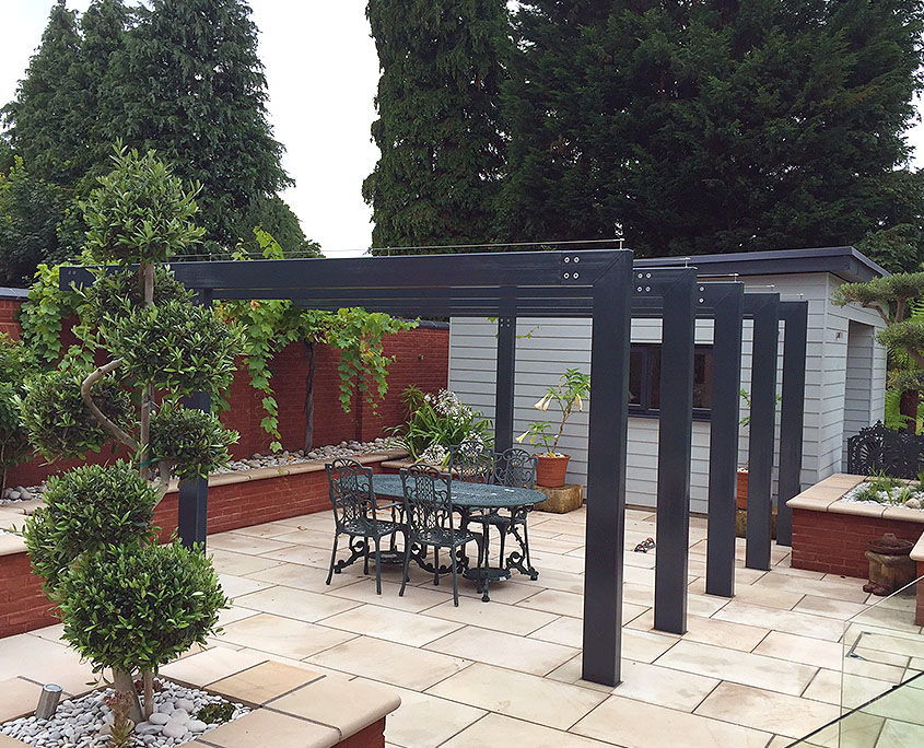 Stainless Steel Alu Canopies Pergolas Arc Metalcraft Ltd