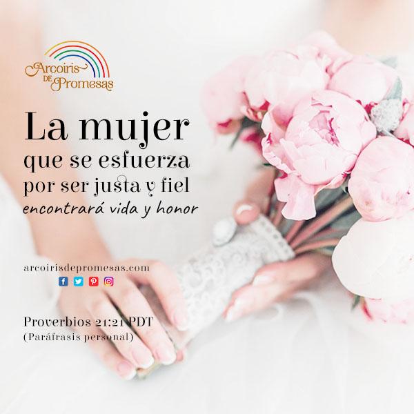 dios premia el esfuerzo de sus hijas promesas de dios para la mujer cristiana